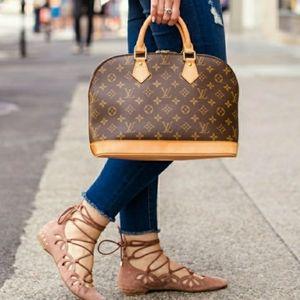 Louis Vuitton Monogram Alma PM Tote Bag